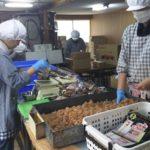 直炊きの飴の製造工場に行ってきました